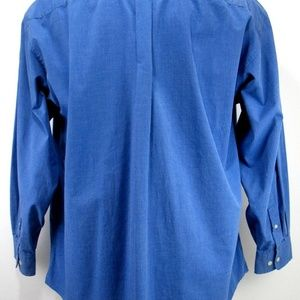 Tommy Hilfiger Shirts - Tommy Hilfiger- Blue Dress Shirt - Size 17.5